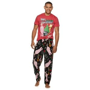 A Christmas Story Men's Loungewear Set 🎄